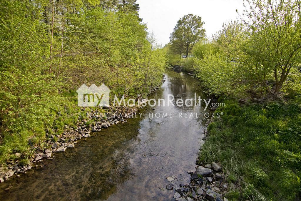 Beautiful stream through Freedom Park