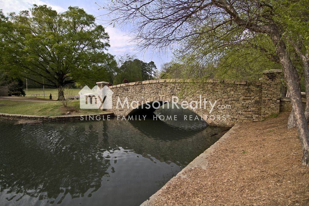 Bridge at Freedom Park in Myers Park