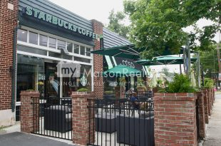 Starbucks and Crisp in Elizabeth Neighborhood