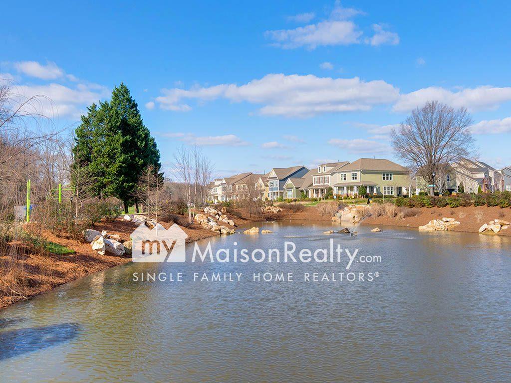 Pond-view in Brightwalk