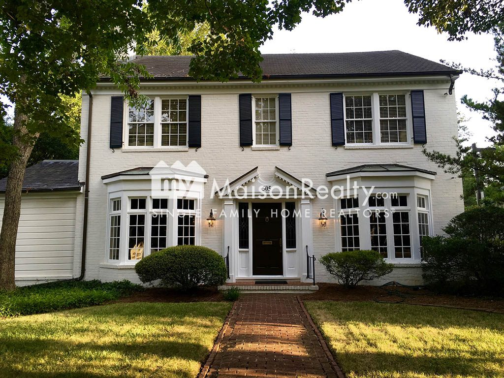 Eastover Colonial style architecture
